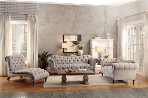 Tufted Living Room Furniture Tufted Living Room Furniture For Household Living Room Firefoux Tufted Sleeper Sofa Living