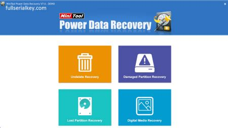full version power data recovery minitool power data recovery 7 0 all editions crack full