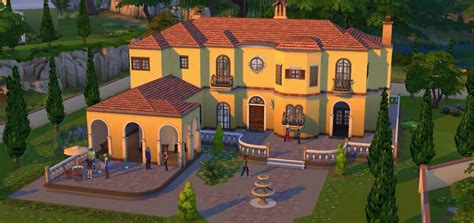 build a mansion online the sims 4 build mode sims online