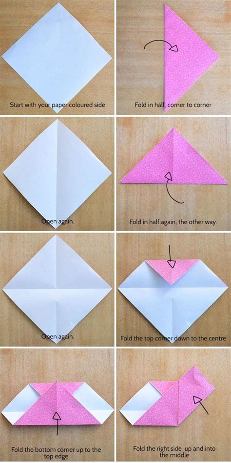 How To Make A Paper C - make an origami kidspot