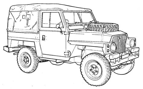 range rover sketch coloring pencil land rover coloring pages