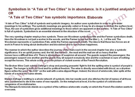 a tale of two cities essays on the charles dickens novel