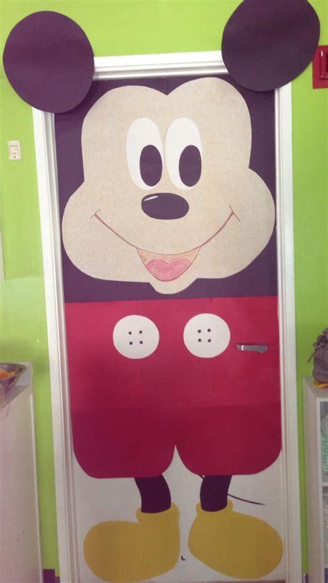 Mickey Mouse Door by Mickey Mouse Door Preschool Work Craft