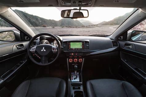 mitsubishi lancer 2016 interior 2016 mitsubishi lancer gt interior clip
