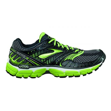 black and green running shoes glycerin 9 road running shoes black green mens at