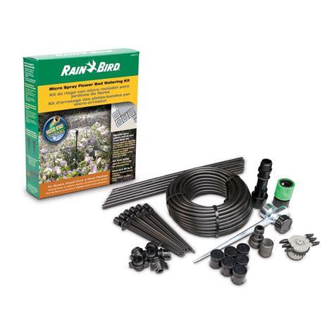 rain bird micro spray flower bed watering kit msdmspkit