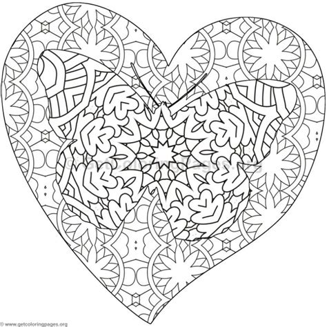 coloring pages of hearts and butterflies butterfly and heart coloring pages 8 getcoloringpages org