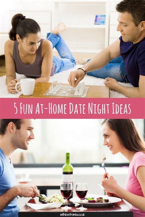 5 at home date ideas with from lou