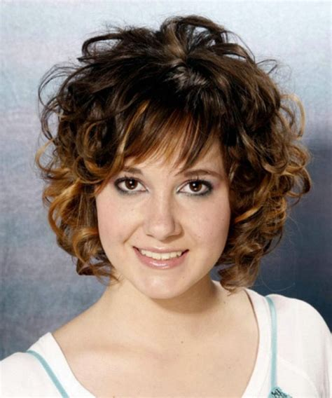 hairstyles bangs curly short layered wavy hairstyles with bangs hair