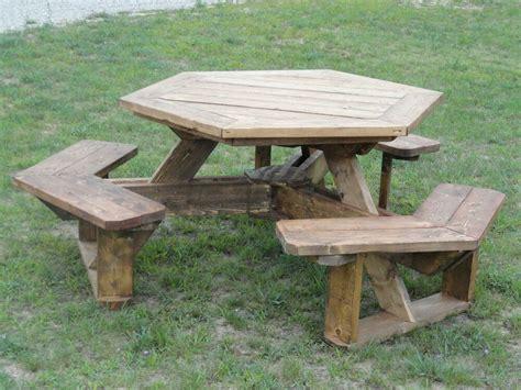 hexagon picnic table plans ebay