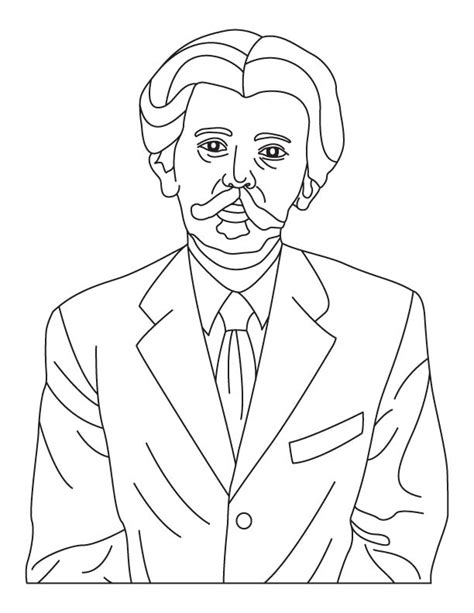 Jfk Coloring Pages Template Jfk