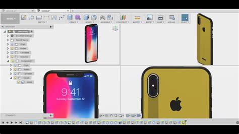 iphone  design fusion  tutorial  keyshot