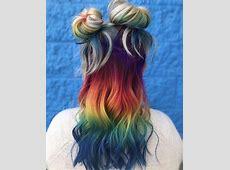rainbow-ombre-hair | Tumblr Rainbow Hair Tumblr