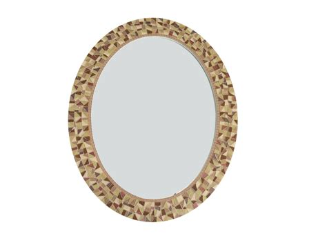 oval wall mirrors decorative brown wall mirror oval mosaic mirror decorative mirror