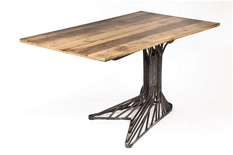 Table Tree by Oak Tree Table Made Of Steel Fancy Addition For Your Home
