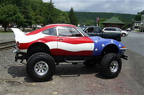 opel jeep opel gt with cj5 jeep drivetrain for sale on ebay