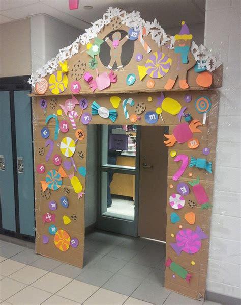 gingrbread house on school door make a sweet gingerbread door for your classroom esl library