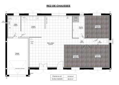 Prevnext With Maison Plain Pied modele maison plain pied 4 chambres best p