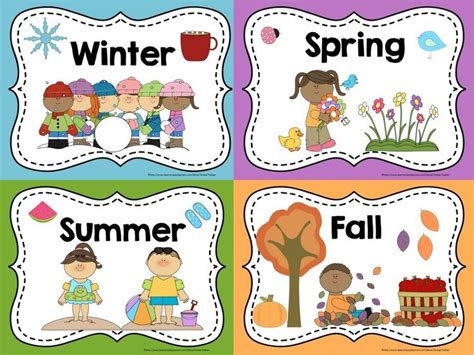 printable seasons poster 25 best ideas about seasons posters on pinterest once