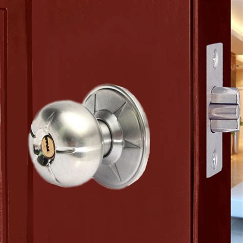 bathroom door knob round lever handle knob knobs door lock bedroom bathroom