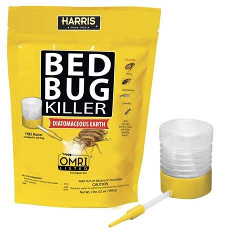 bed bug poison harris 32 oz diatomaceous earth bed bug killer hde 32