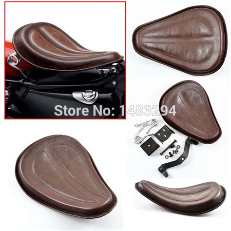 Sepatu Kickers Slop Brown Leather motorcycle brown leather seat w brackets springs for