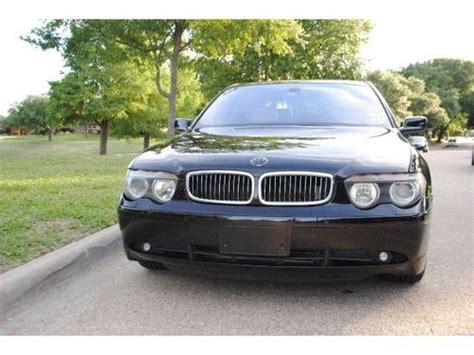 purchase used 2003 bmw 745li base sedan 4 door 4 4l in