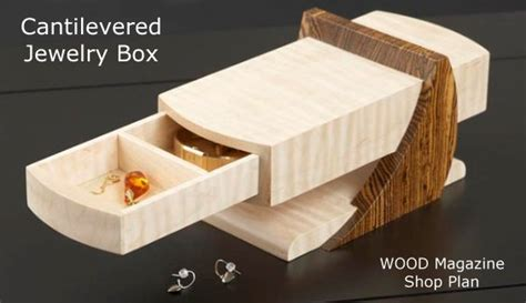 build your own wood box jewelry box plans