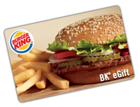 Burger King Gift Card Free - free 5 burger king gift card club freebies