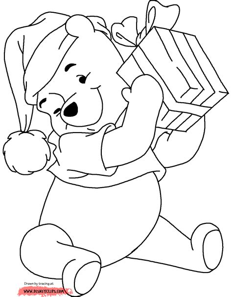 coloring pages winnie the pooh christmas disney christmas coloring pages 2 christmas fun at