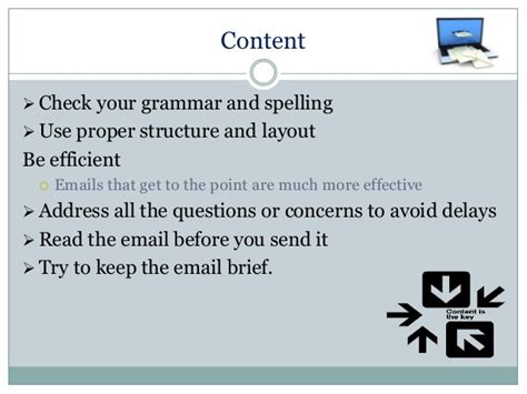 email etiquette layout email structure and layout images