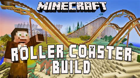 how to build a roller coaster in your backyard minecraft timelapse roller coaster build scarland