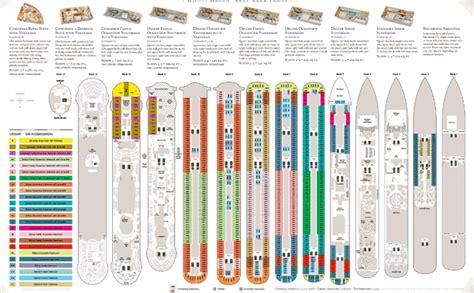 disney magic floor plan disney cruise line deck plans
