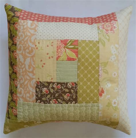 Patchwork Cushion Designs - patchwork cushion cover miller designs madeit