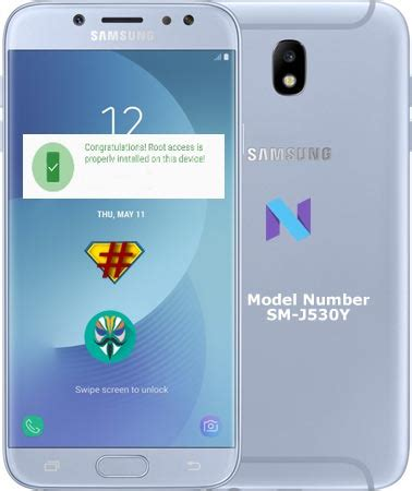 Samsung Galaxy J5 Pro J530y Resmi Sein root samsung galaxy j5 pro sm j530y nougat 7 0 android infotech