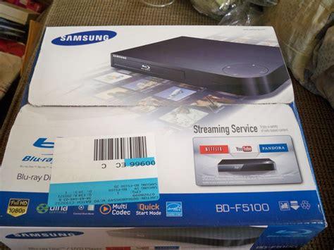Remotremote Dvd Player Ebox Original free samsung dvd player bd f5100 brand new in