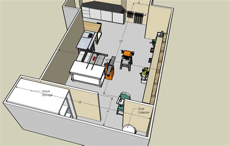 woodworking shop floor plans the eagle lake shop