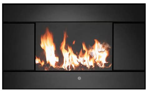 focal point evoke black remote control electric fire