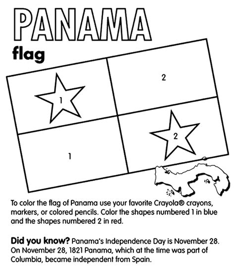 Panama Coloring Pages Panama Crayola Com Au by Panama Coloring Pages