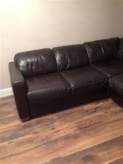 is my couch real leather real leather corner couch for sale in bishopstown cork