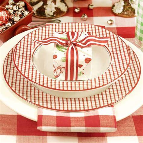 tischdeko weihnachten teller servietten deko zu weihnachten besondere hingucker auf