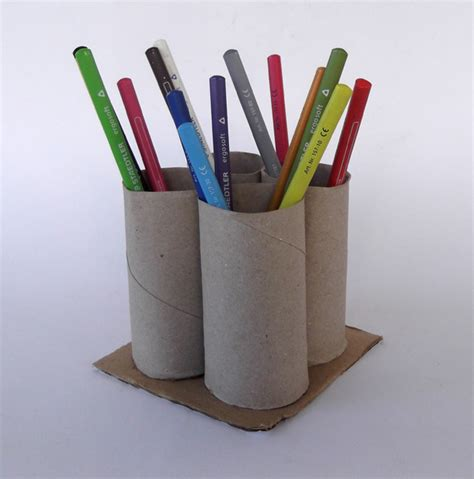 How To Make A Paper Pencil Holder - relief international volunteer
