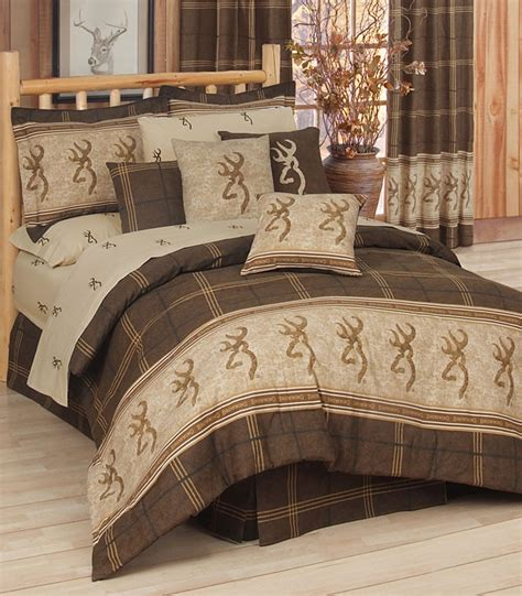browning bed sets browning buckmark bedding from kimlor comforter ensembles
