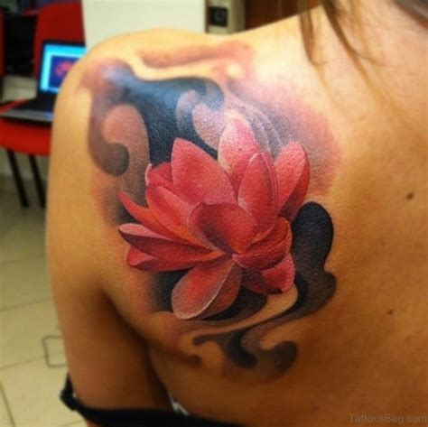 red lotus flower tattoo 44 magnificent lotus tattoos
