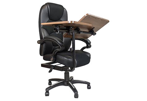 laptop desk chair office chair with integrated laptop desk sharper image