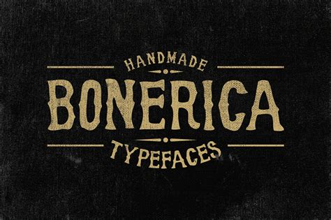 Handcrafted Fonts - 21 must handmade fonts