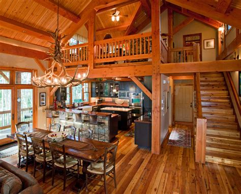 Beautiful Log Cabin Dining Rooms | beautiful log cabin dining rooms
