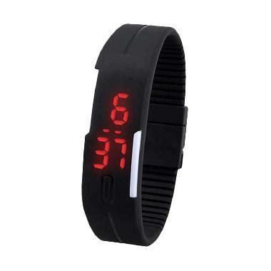 Jam Tangan Led Adidas 02 jual universal led hitam jam tangan pria