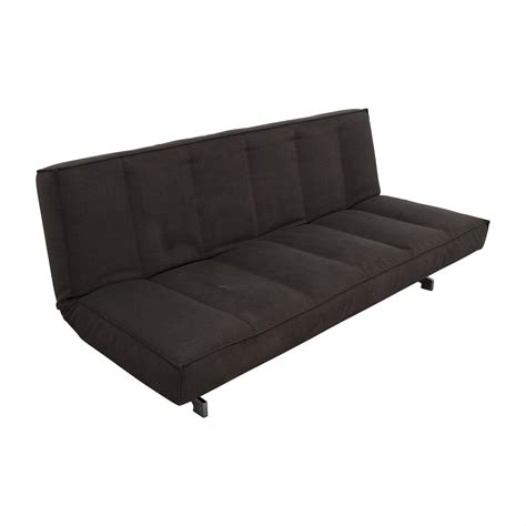 flex couch 77 off cb2 cb2 flex gravel sleeper sofa sofas