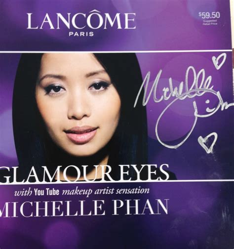 Michelle Phan Giveaway - free sle giveaway review video exclusive photos michelle phan for lancome
